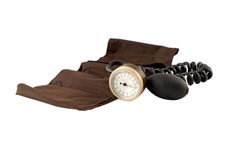 aneroid: Aneroid sphygmomanometer with an adult cuff