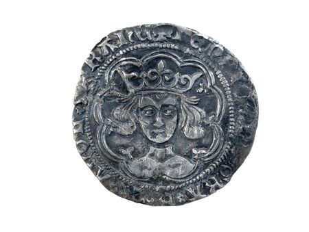 minted: Hammered silver groat of Henry VI minted at Calais 1430-1431 diameter 27mm