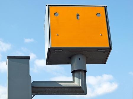UK roadside automatic speed enforcement camera