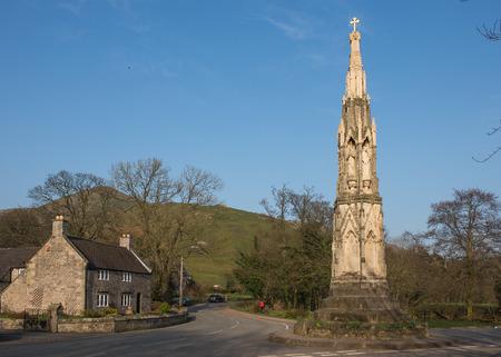 das Kreuz an ilam ein beliebtes Touristenziel im Nationalpark Höchstbezirkes Lizenzfreie Bilder
