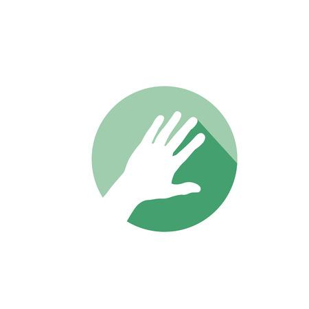 Orthopedie Bot sport letsel pictogram voor Hand