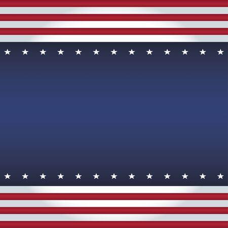 patriotic background: Vector square background USA flag colors. Equal sides.