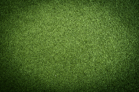 Artificial grass turf in green colors photo