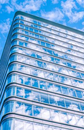many windows: Skyscraper with many windows