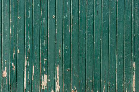 Wooden background with weathered paint in teal color Banque d'images