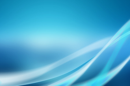 dynamic motion: Abstract blue background with soft curves and bright light