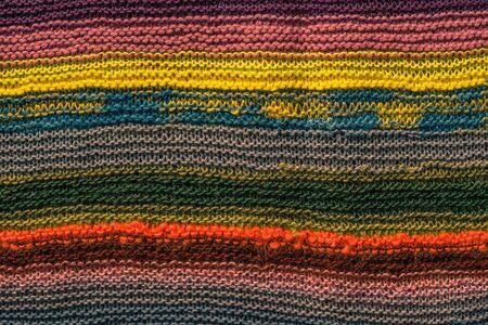 knitwear: Colorful knitwear pattern in many colors