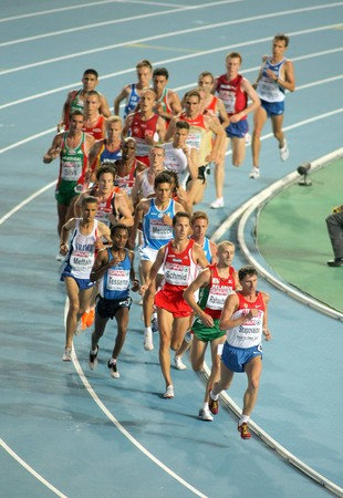 medalist: Men 10000m final during the 20th European Athletics Championships at the Olympic Stadium on July 27, 2010 in Barcelona, Spain