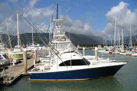 cairns: A beautiful marina setting in Cairns Australia