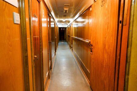 MURMANSK, RUSSIA jun 2019 Interior of the Soviet atomic icebreaker Lenin Editöryel