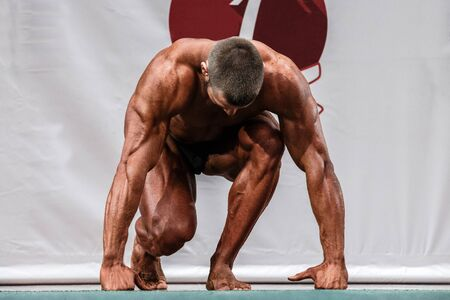 arbitrary: male professional athlete to compete in bodybuilding. arbitrary exercises