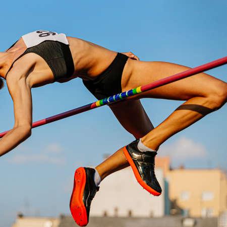 high jump best attempt women athlete jumper in athletics