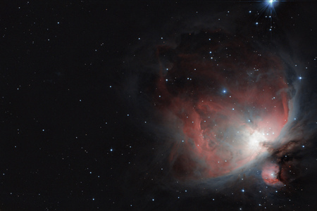 M42 Orion nebula (HDR composition)