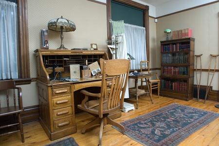 oct 31: Londres, Ontario, Canad� - 5 de agosto de 2011. Instrumental m�dico ubicado dentro de Banting House en Londres, Ontario, Canad�. Fue dentro de esta casa que el Dr. Frederick Banting concibi� la idea de 31 de octubre de 1920 que llev� al descubrimiento de la insulina.