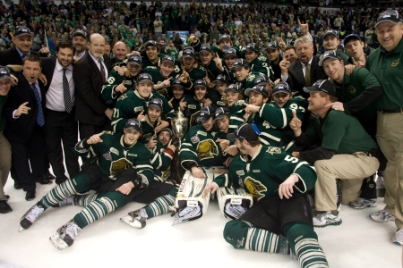 London Ontario, Canada - May 11, 2012. The London Knights defeated the Niagara Icedogs 2 -1 to win the Ontario Hockey League Championship series 4 - 1. The Knights will now play for the national title, The Memorial Cup in Shawinigan Quebec starting on May Editorial