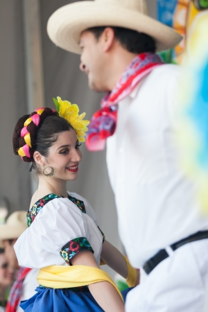 Fiesta London is an annual celebration of Latin, music, arts, craft and food.