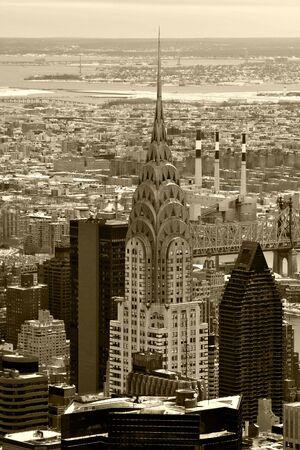 chrysler: Chrysler Building, Manhatton, New York Stock Photo