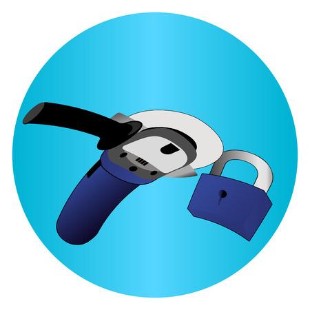 to saw the lock circular saw