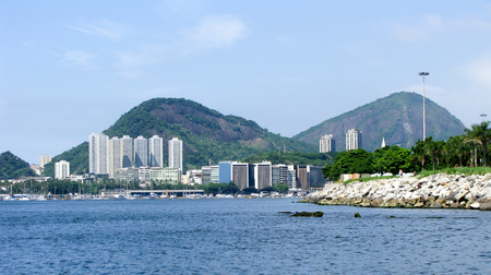 spectacular: Spectacular panorama of Rio de Janeiro, Brazil