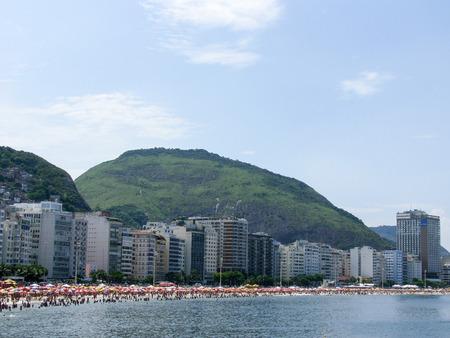 Spectacular panorama and city view of Rio de Janeiro, Brazil
