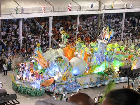 rio: Rio de Janeiro, Brazil - February 23: amazing extravaganza during the annual Carnival in Rio de Janeiro on February 23, 2009 Editorial