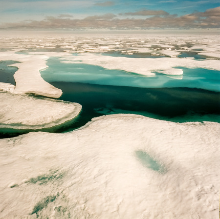 icefjord: Blue Sheet Ice in the Arctic