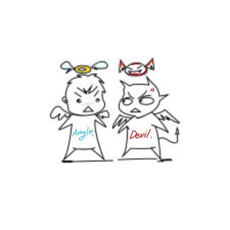 angel: angel and devil