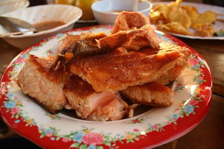 그릴: salmon grill 스톡 사진