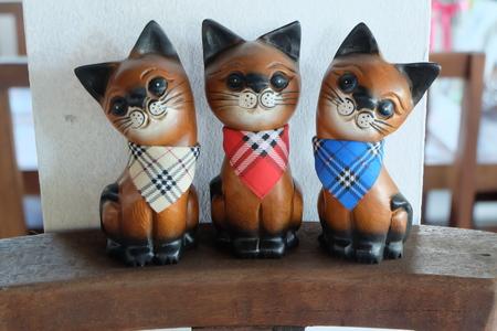 carve: cat carve Stock Photo