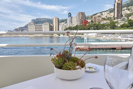 Montecarlo view from Monte Carlo beach hotel