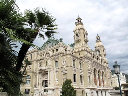 Montecarlo, Monaco - October 30, 2013: Place du casino Editorial