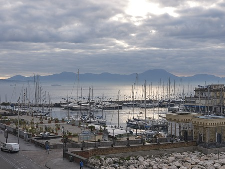 View of Naples, Editorial