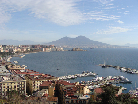 View of Naples gulf