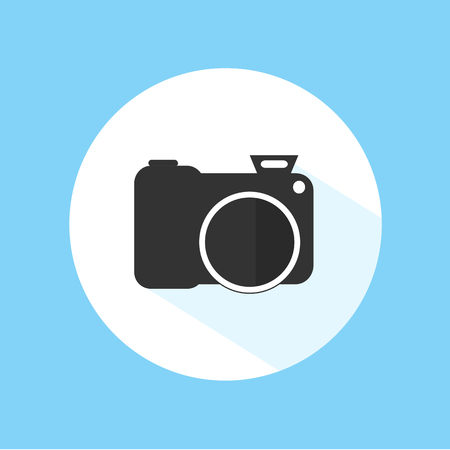 Camera Icon Silhouette Photography Vector Design Illustration