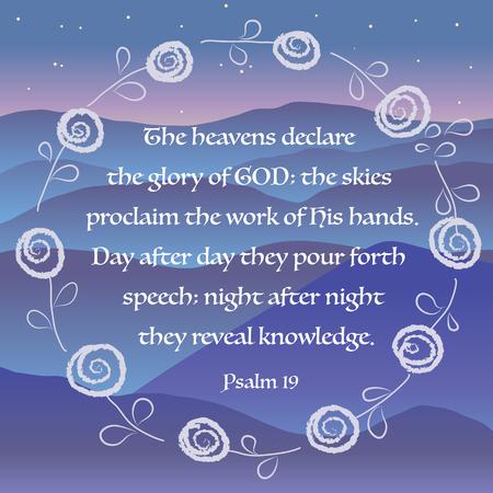 faithfulness: God Jesus Christ Bible Christianity Holy Church Love Message Cross Wreath Flower Vector Illustration Illustration