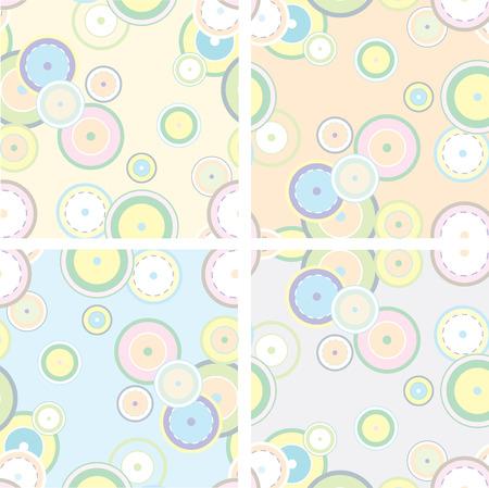 シームレスなパステル調のレトロなスタイルの装飾の印刷パターンをタイルします。特にタイル張りのとき彼らのベストを見てするために作成。背