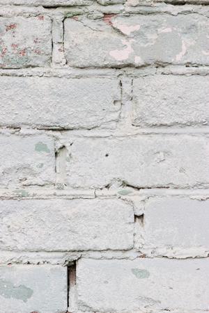 dirty room: Shabby Vintage Retro Urban Brick Wall Background Vertical.