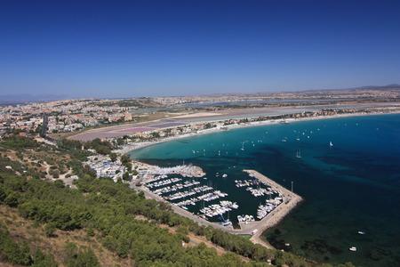 angeli: Panorama of Cagliari, Sardinia, Italy.