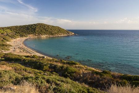 The beach Cala Regina in Sardinia, Italy. Stock Photo