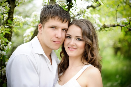 Young couple in love Stock Photo - 10732809
