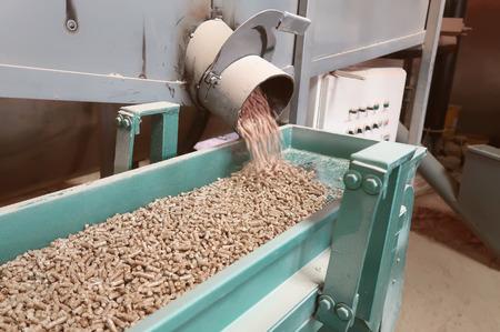 Wooden granule