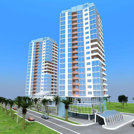 the 3d: 3d edificio