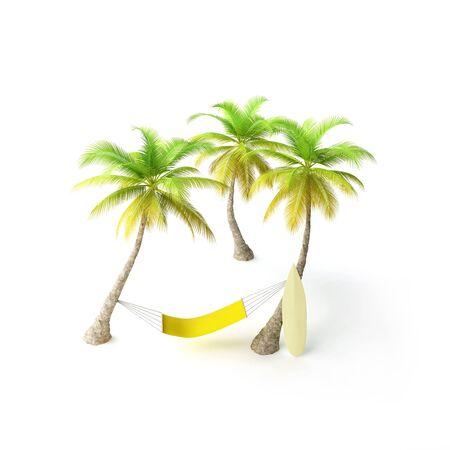 solter�a: hamaca en ambiente tropical