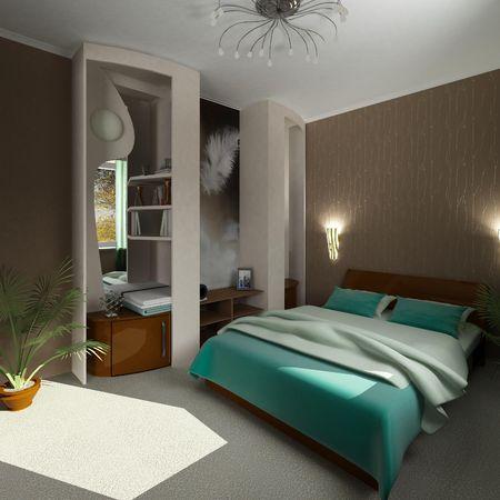 modern bedroom Stock Photo - 2771327