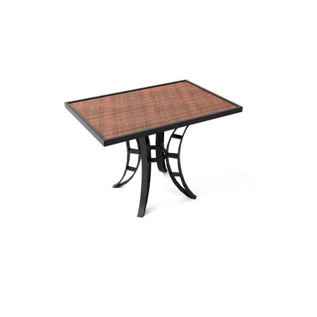 isolated wooden table