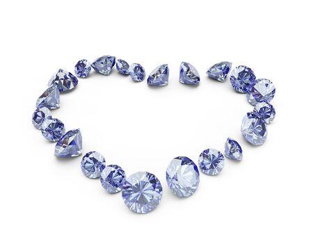 coeur diamant: diamant coeur