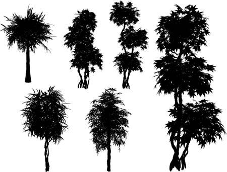 vector trees Stock Vector - 4382714