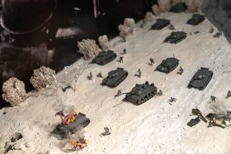 miniature of the battle of world war II