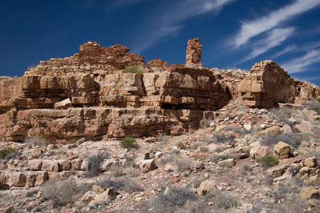 pueblo: Wupatki Pueblo was the largest pueblo around.