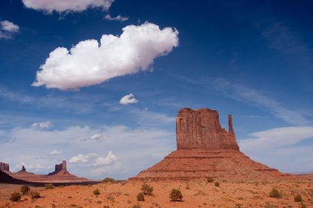 evolved: Monument Valley is considered one of the natural wonders of the world because of the beauty of the enormous monuments of stone that have evolved from nature.